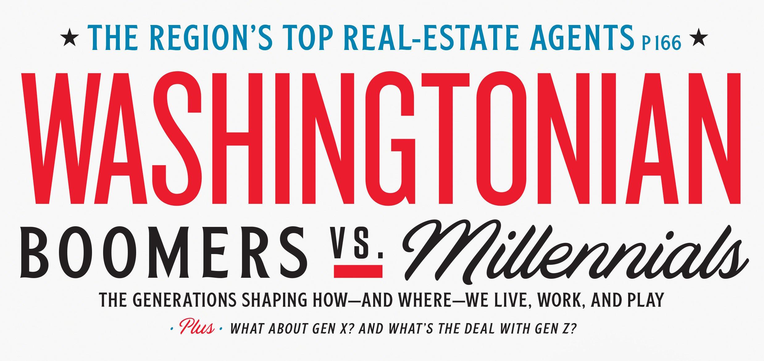 July 2019: Boomers vs. Millennials | Washingtonian (DC)