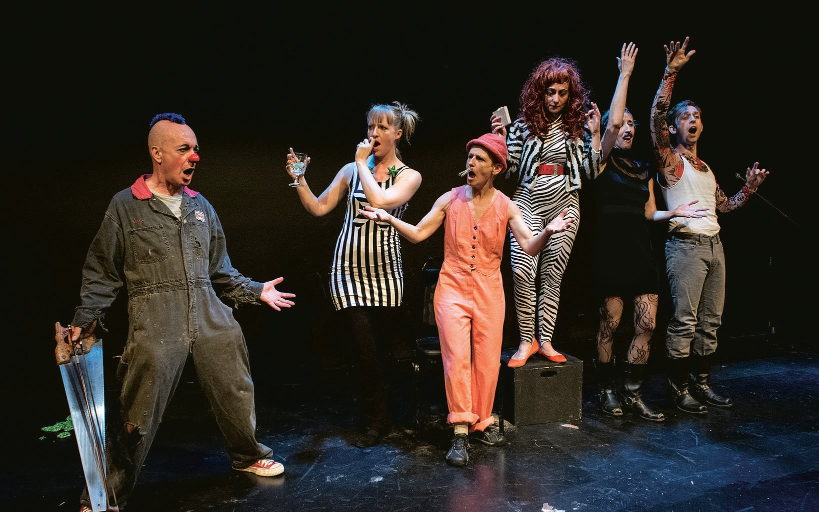 Photograph of cabaret courtesy of Capital Fringe Festival .