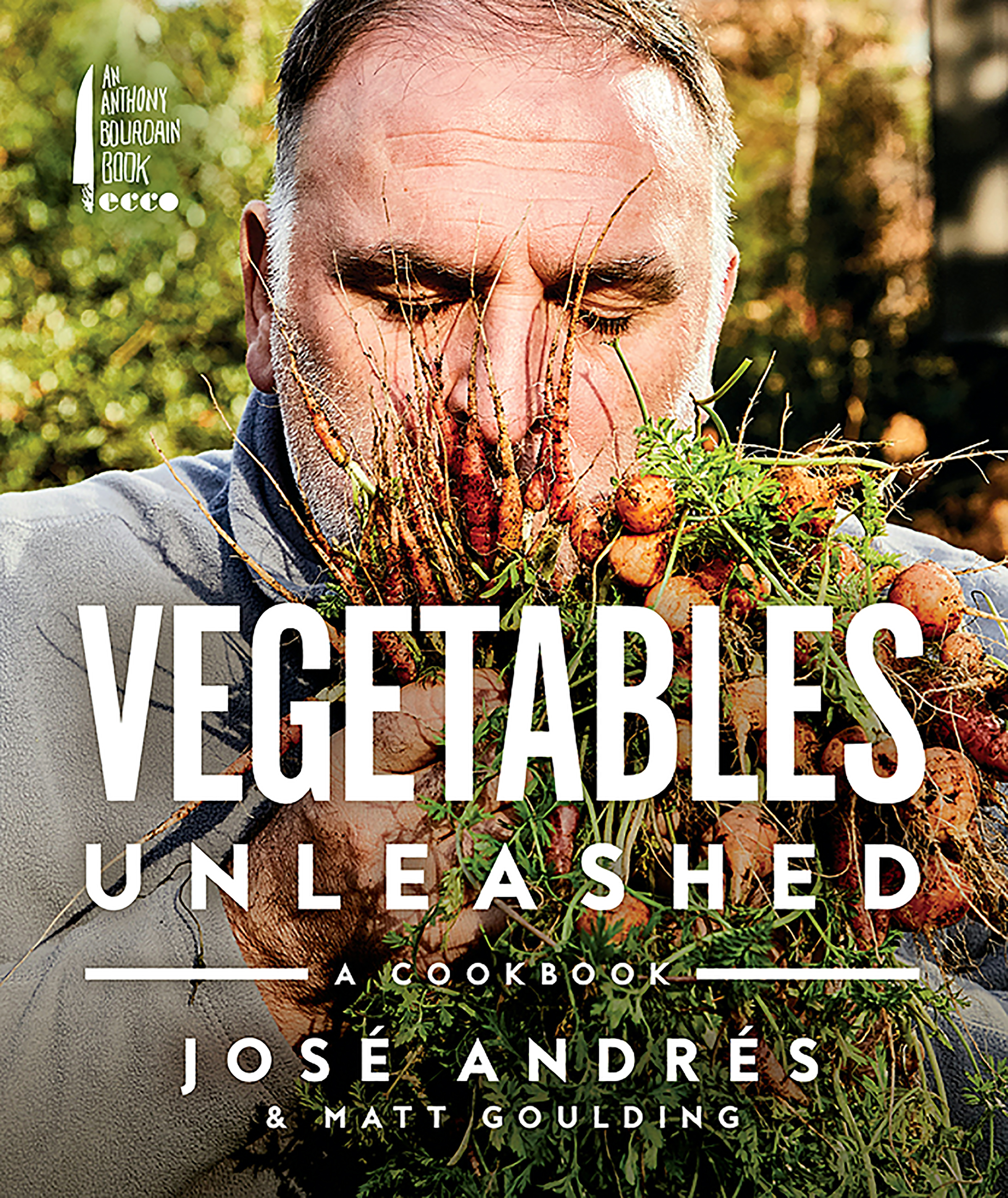 Photograph of Vegetables Unleashed courtesy of Anthony Bourdain Books/Ecco