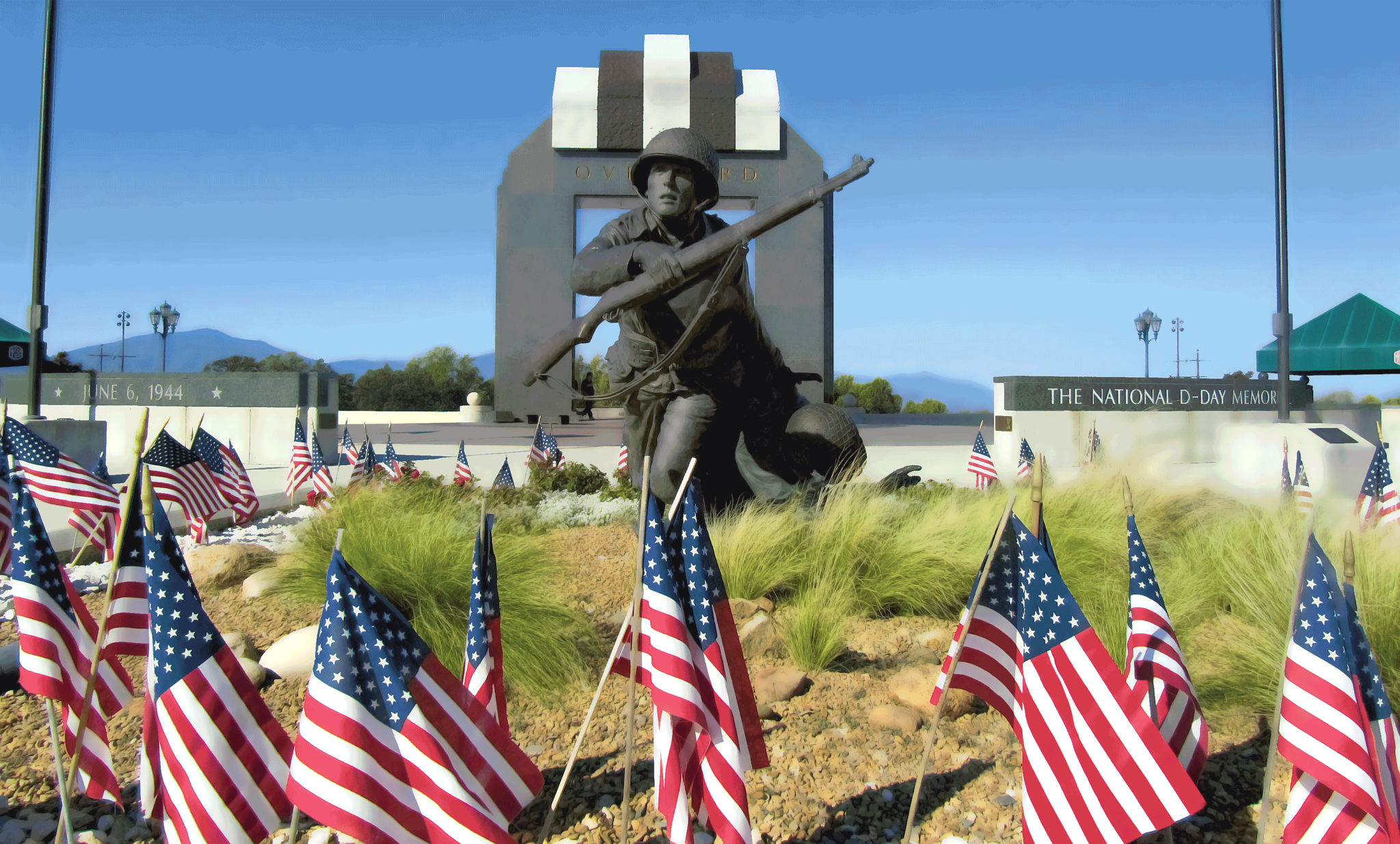 National D-Day Memorial. Photograph by Ian Patrick/Alamy.