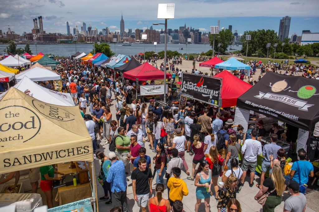 New York's open air market is coming to DC on Saturday. Photograph courtesy of Smorgasburg.