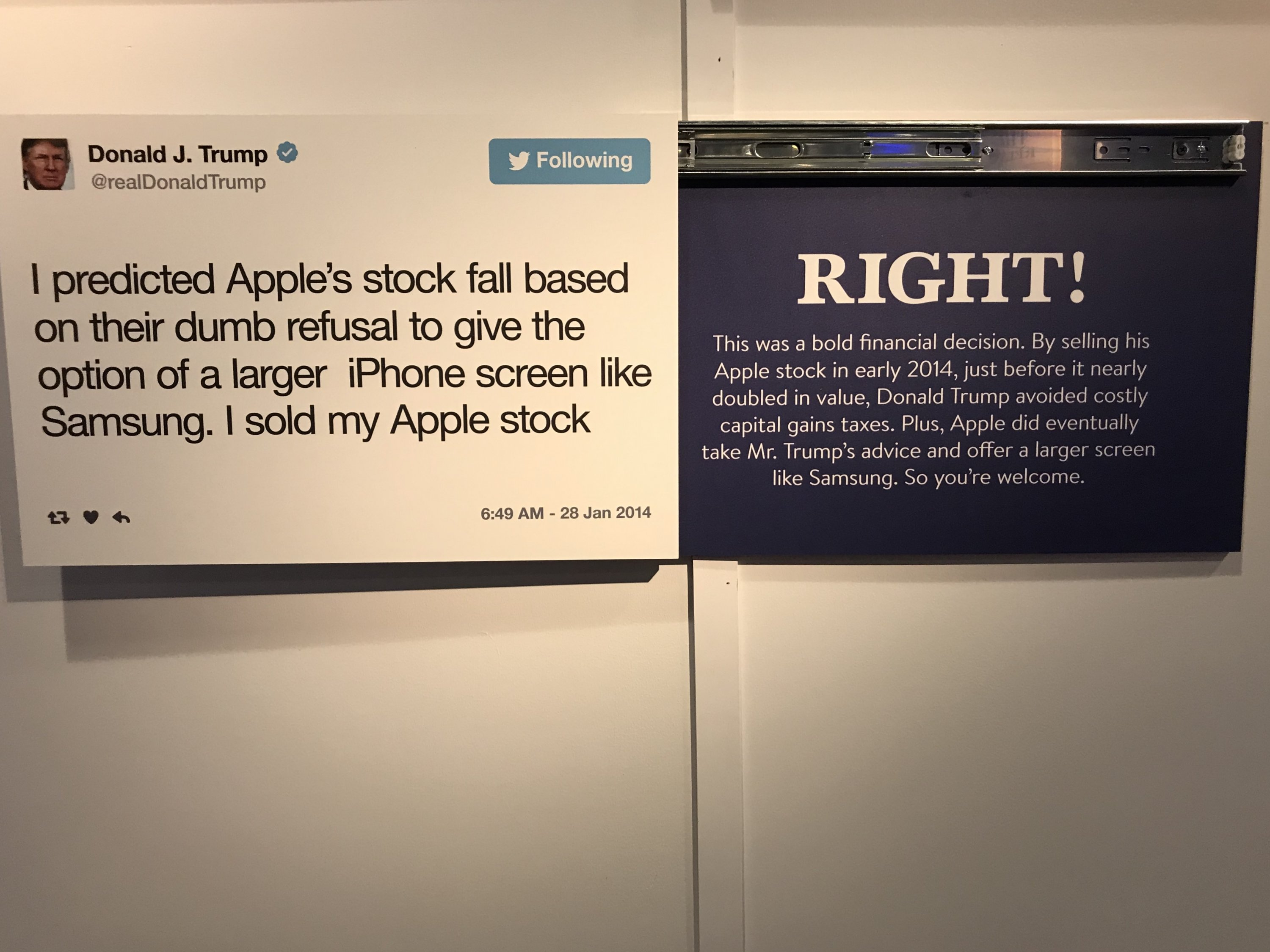 Trump Twitter Library DC