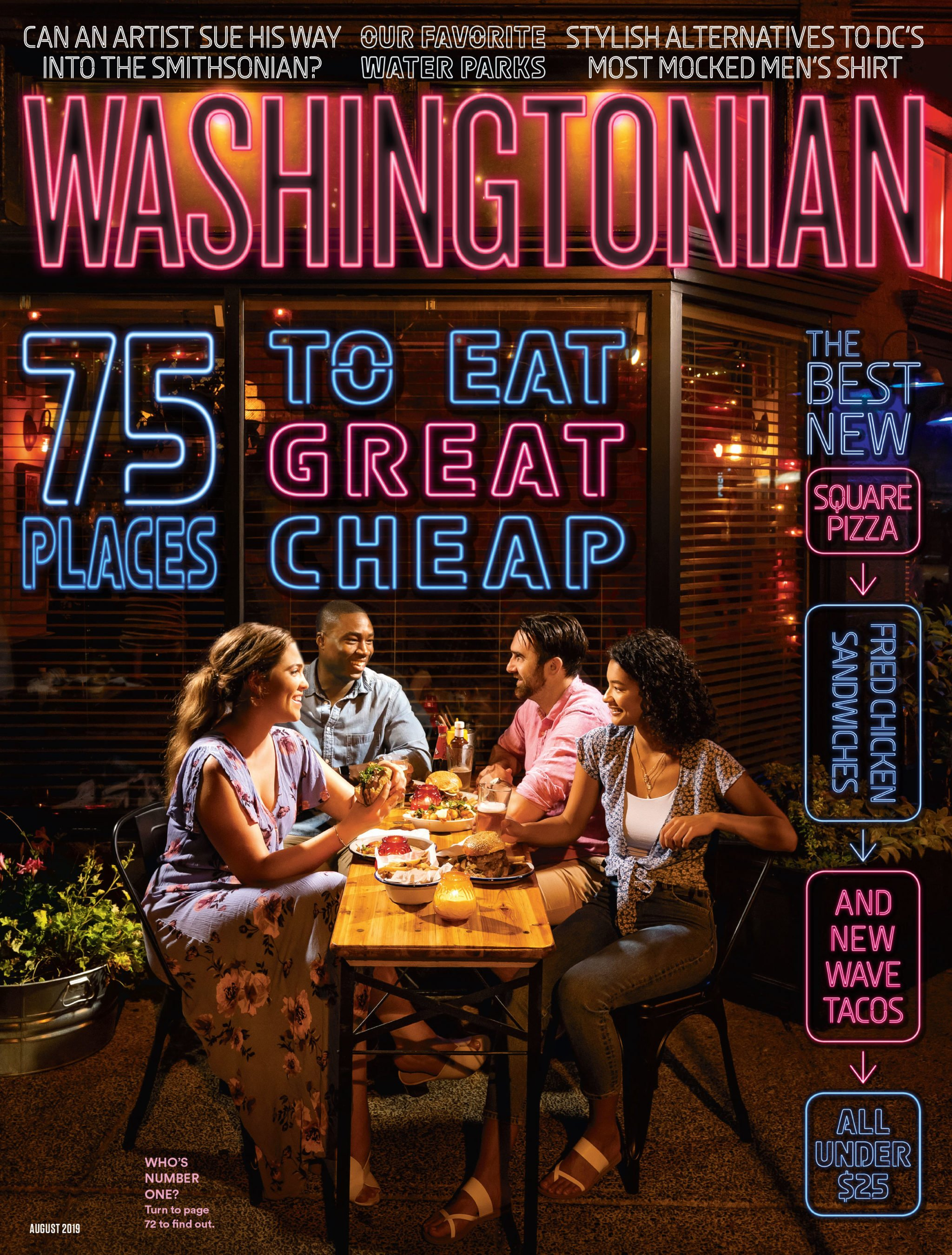 August 2019 75 Places To Eat Great Cheap Washingtonian Dc