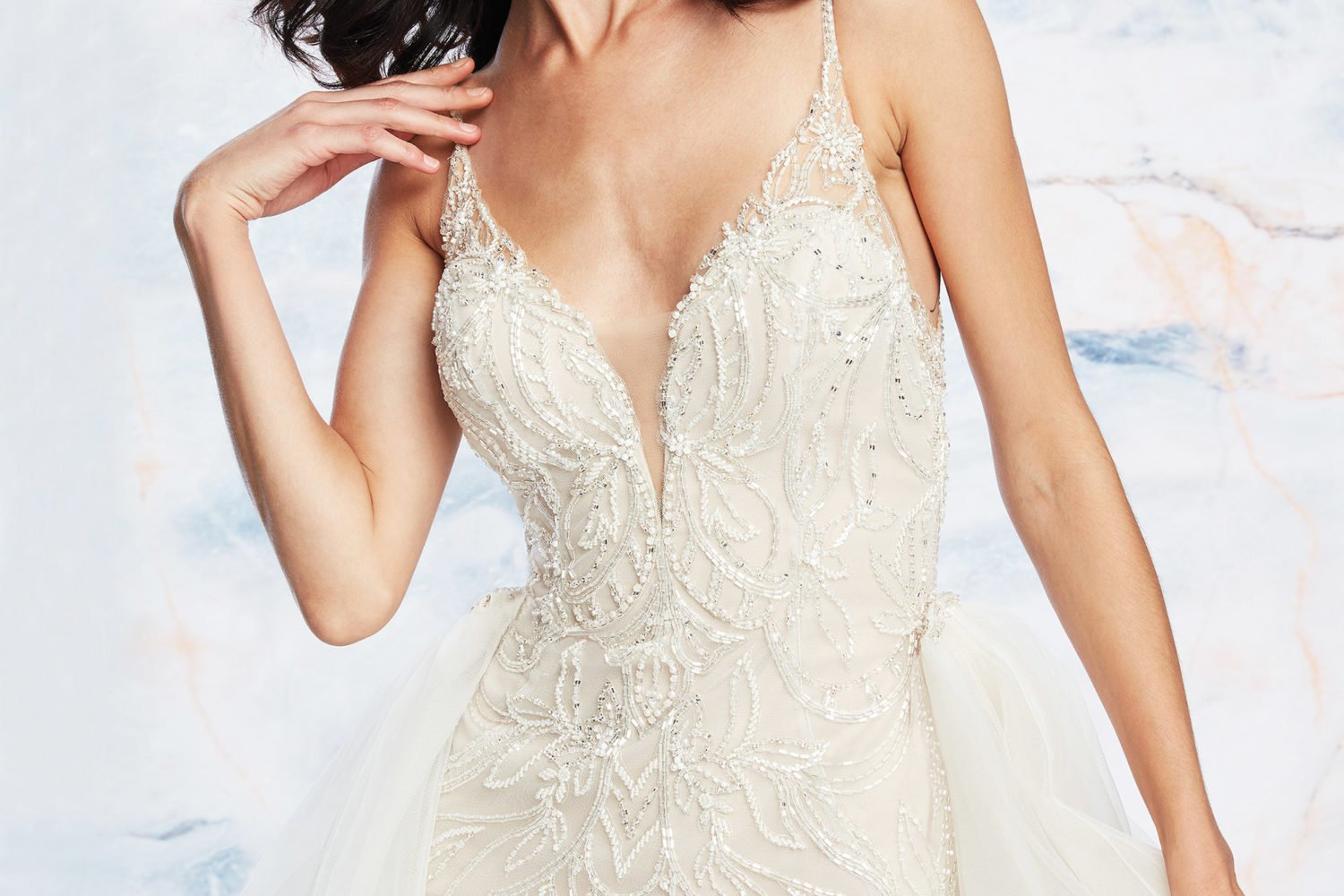 de06c2b18e A Two-in-One Look: 7 Wedding Dresses With Removable Overskirts · bridal -pantsuits