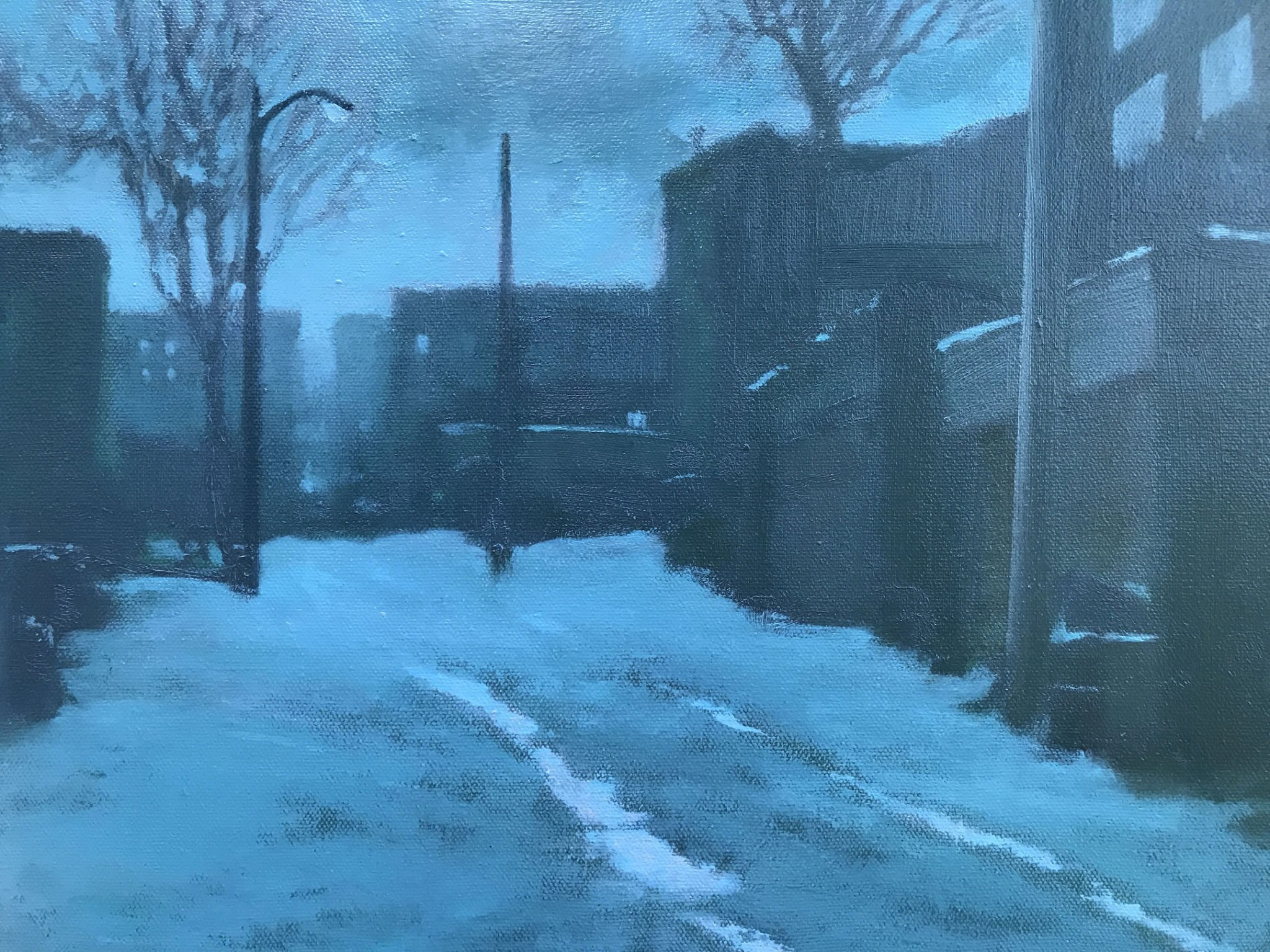 Local Artist Scott Ivey Explores the Melancholic Beauty of DC's Urban Landscapes