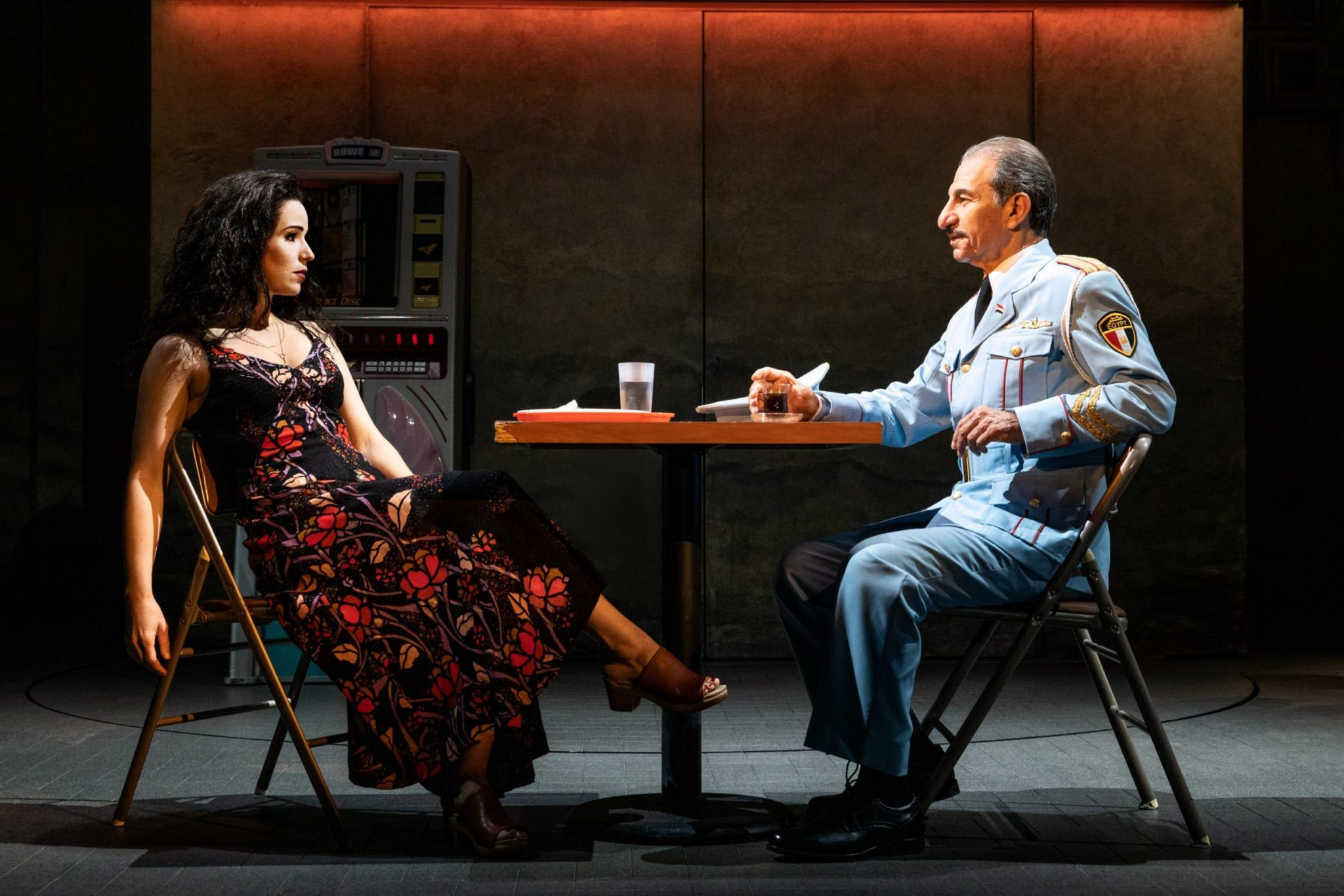 Head to the Kennedy Center to watch Tony award-winning play, The Band's Visit. Photo by Matthew Murphy.
