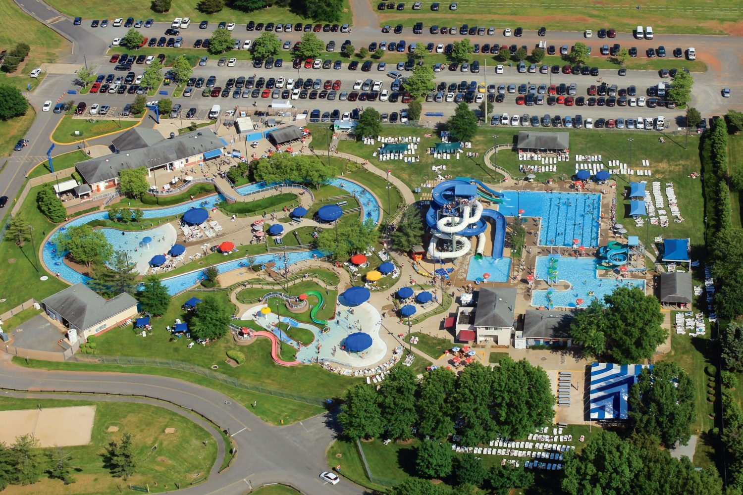 SplashDown water park. Photograph of SplashDown courtesy of SplashDown Water Park.