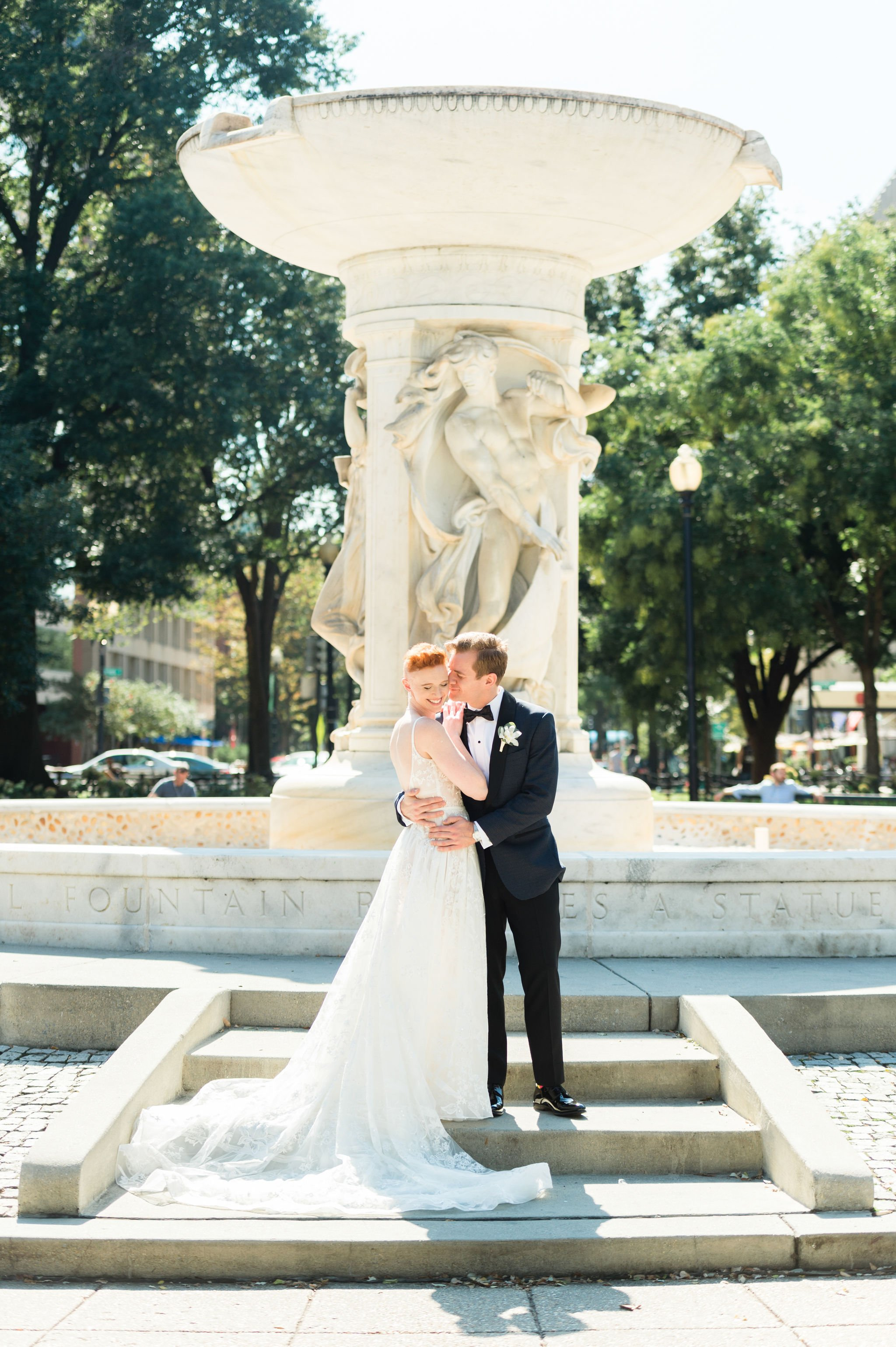 This Decatur House Wedding Took Place Underneath a Gorgeous Tent