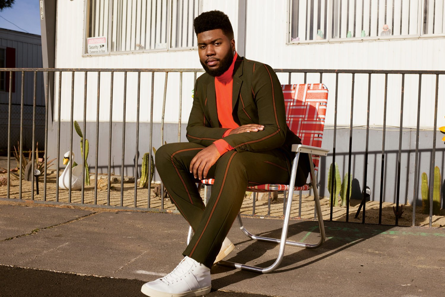 See Khalid in concert at Capitol One Arena August 3rd. Photograph by Grace Pickering.