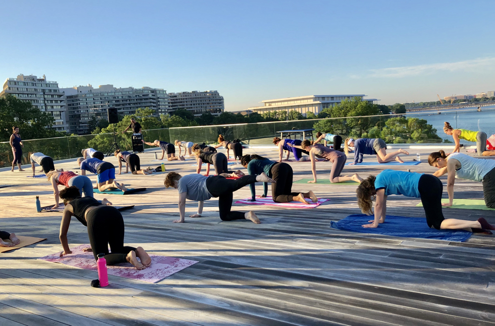 Sunrise Pilates on the Rooftop