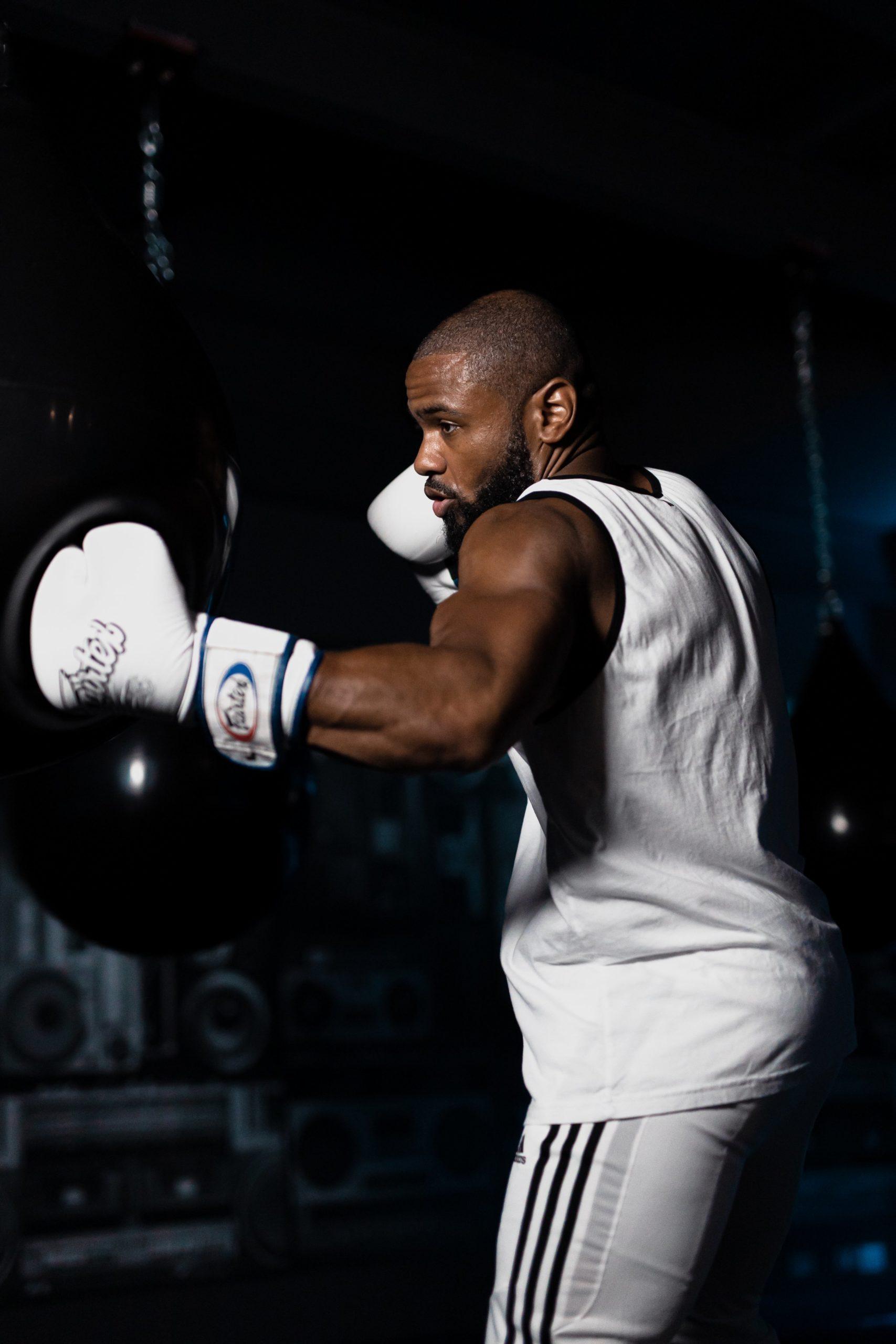 Co-founder Reggie Smith. Photo courtesy of BOOMBOX Boxing Club.