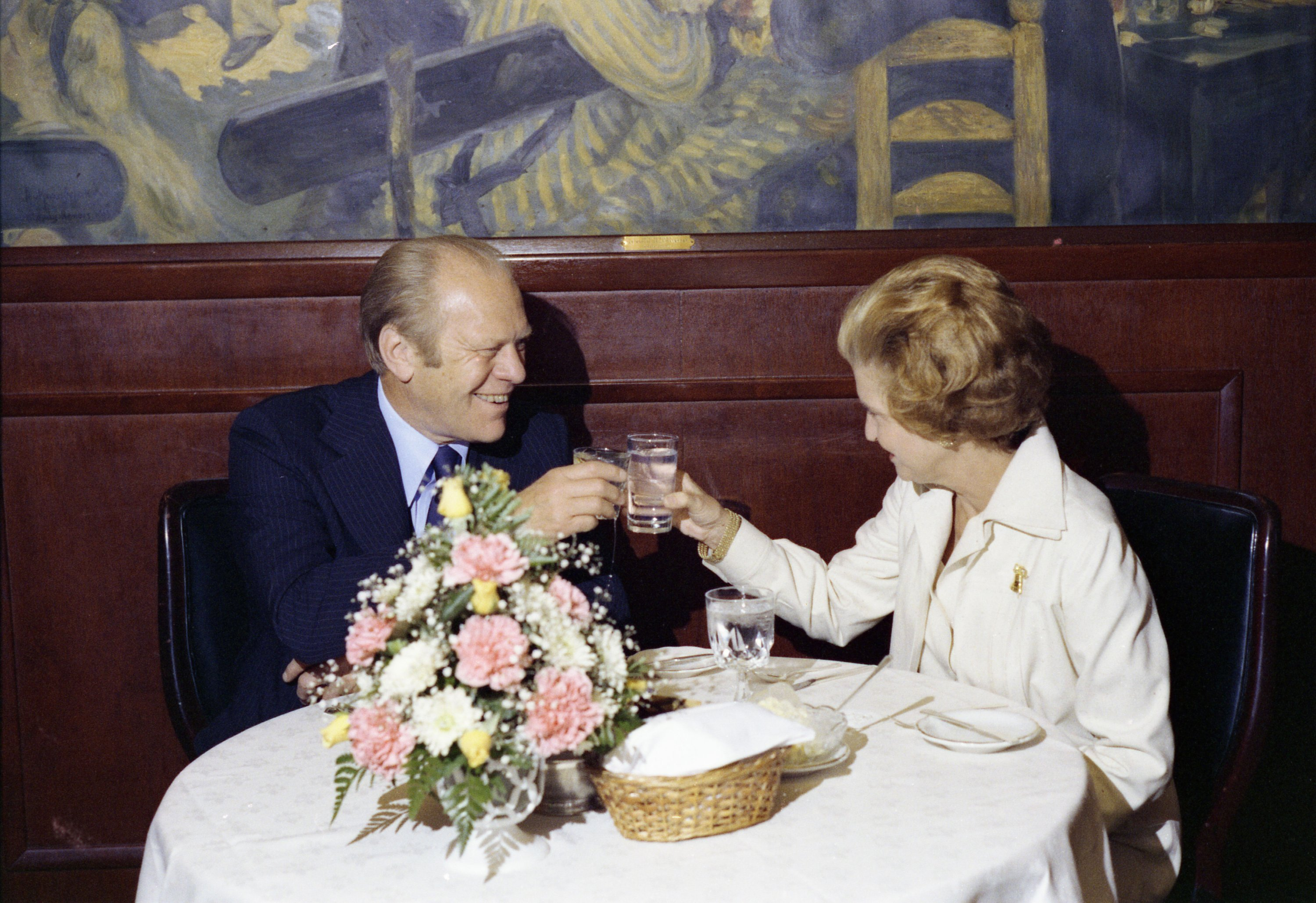 Gerald and Betty Ford. Photograph courtesy of Gerald R. Ford Presidential Library.