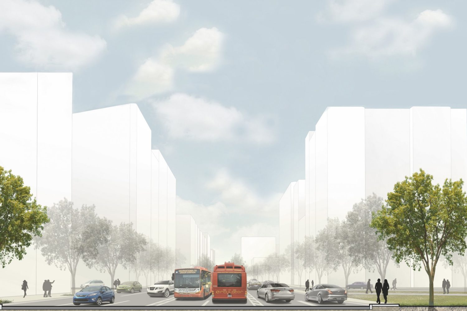Rendering Courtesy of District Department of Transportation.