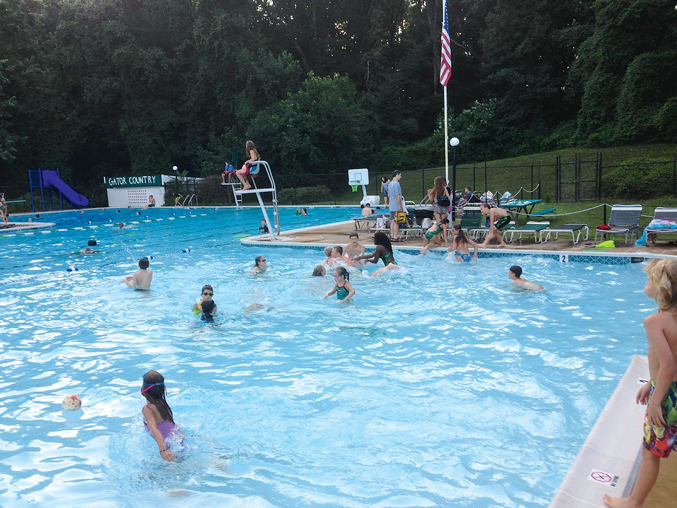 Photograph of Forest Hollow courtesy of Forest Hollow Swim Club