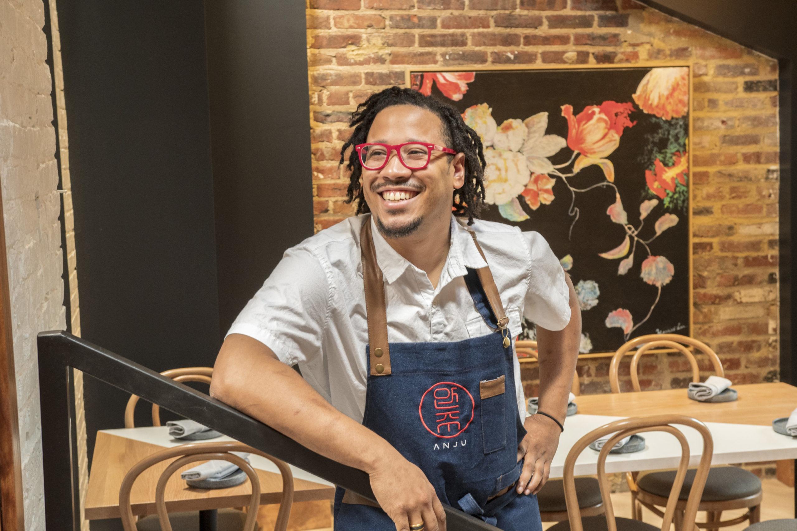 Anju executive chef Angel Barreto