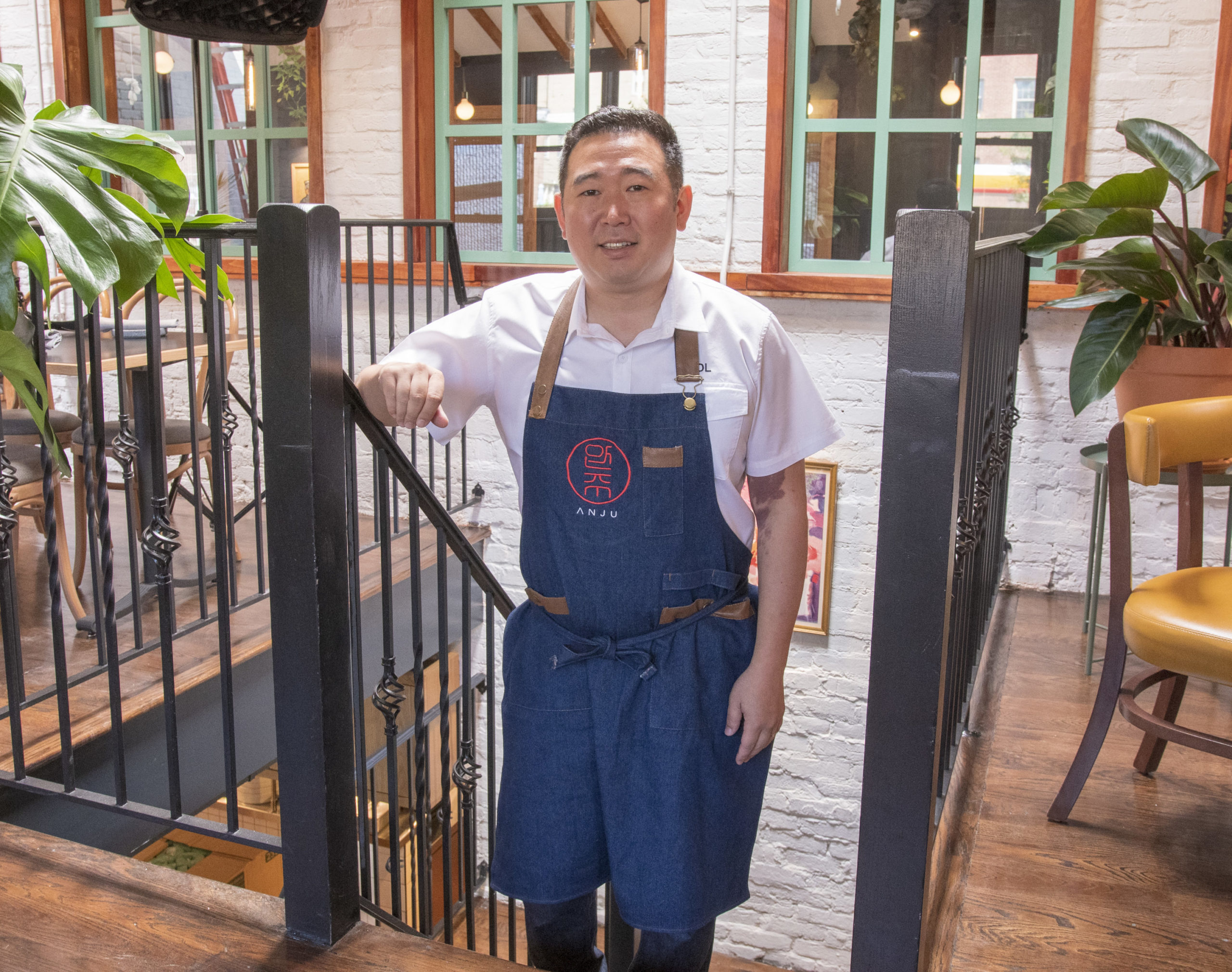 Chef/co-owner Danny Lee of Chiko and Anju