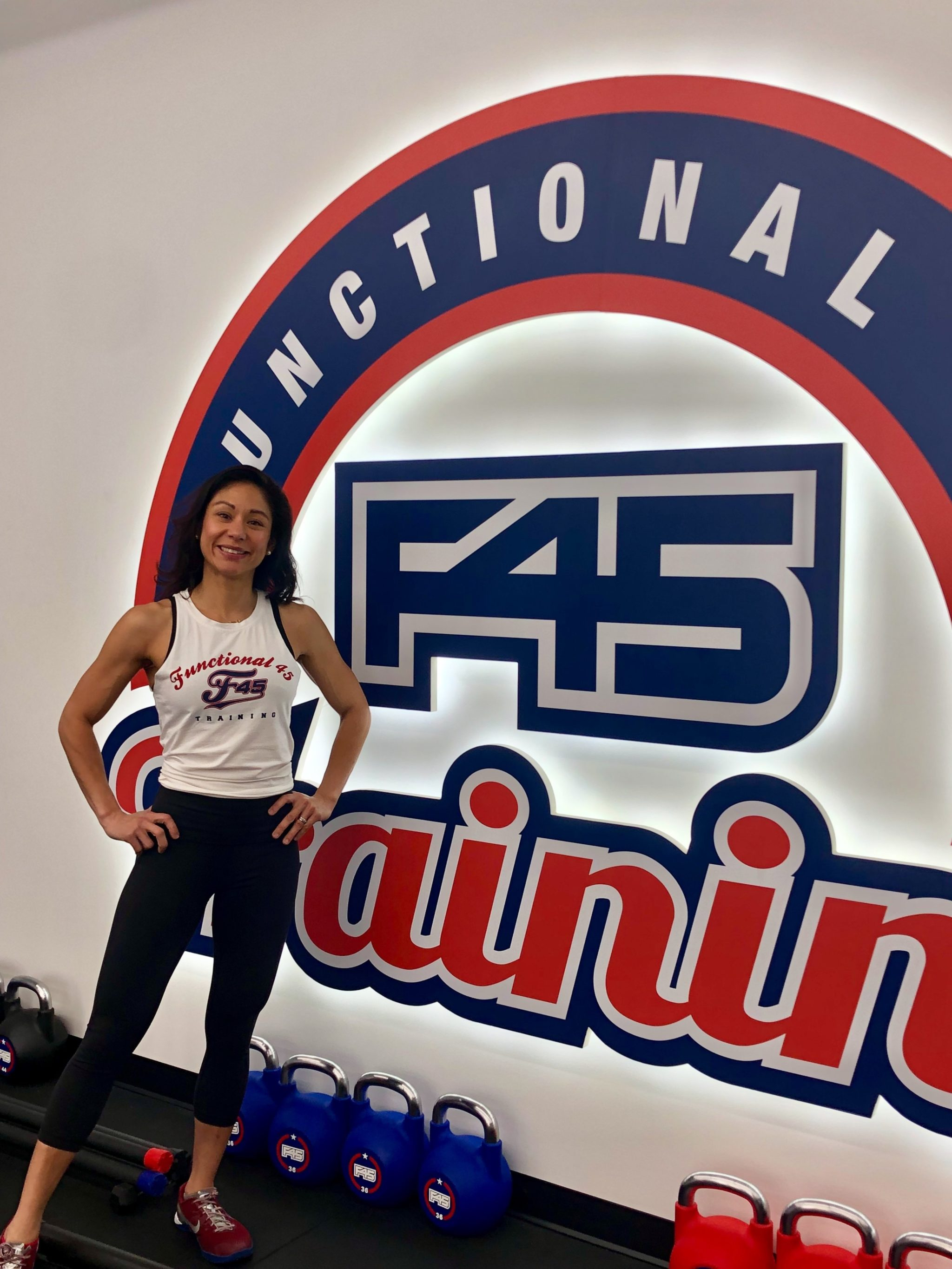 How a Former Marine and Mother of Two Balances Being a F45