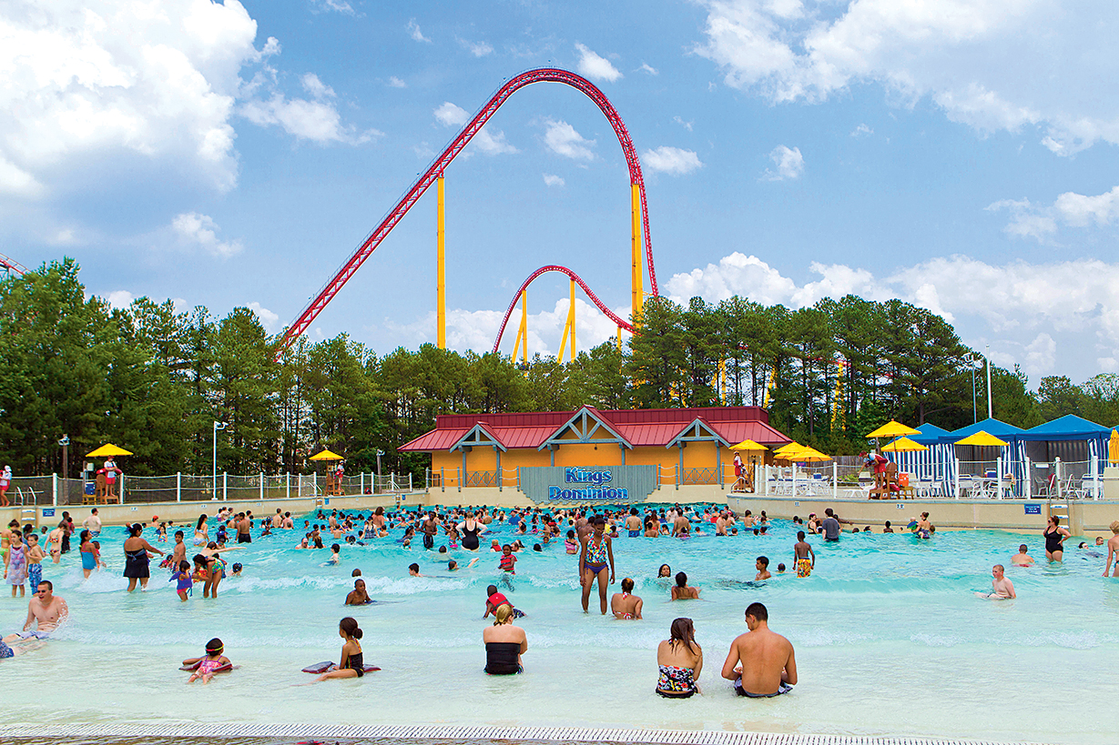 Photograph of Soak City Courtesy of Kings Dominion