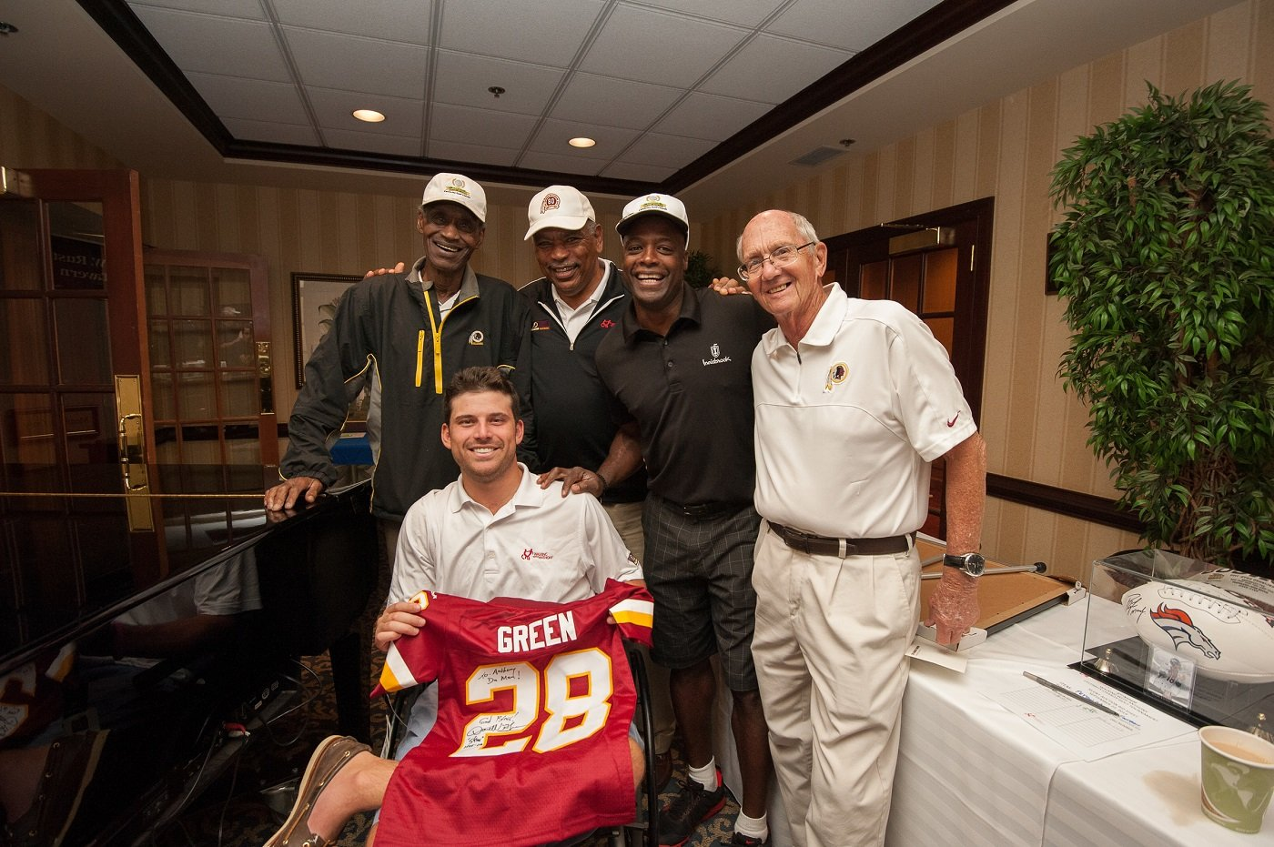 Walking With Anthony back for 7th Annual Charity Celebrity Golf Tournament & Dinner with Washington Redskins Charitable Foundation