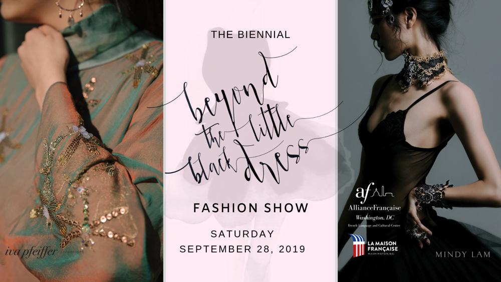 Beyond The Little Black Dress – Alliance Française of Washington DC's Fashion Show