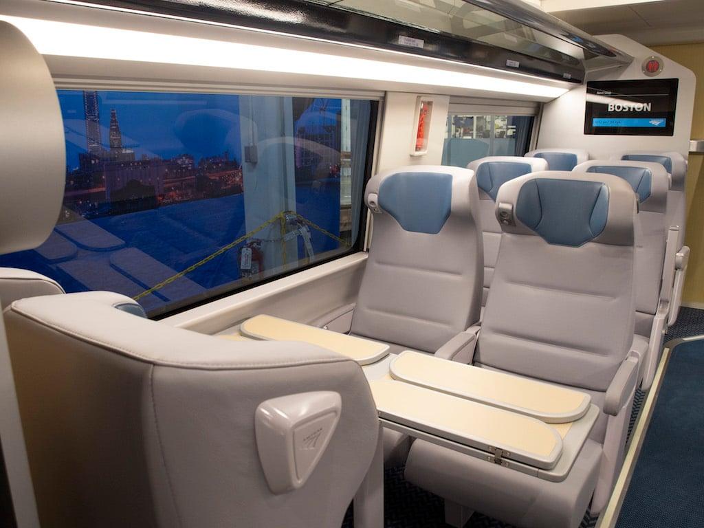 PHOTOS: The Next Acela Trains' Interiors
