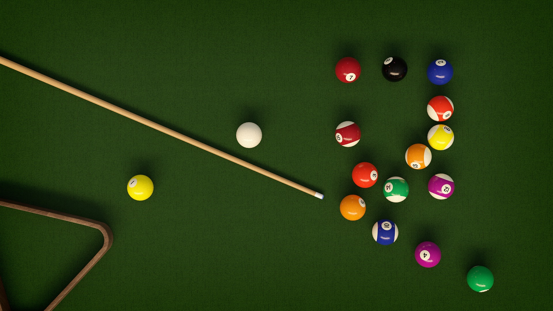 Buffalo Billiards is auctioning off their pool table after the bar's closing day. Image courtesy of Pixabay user Piro4d.