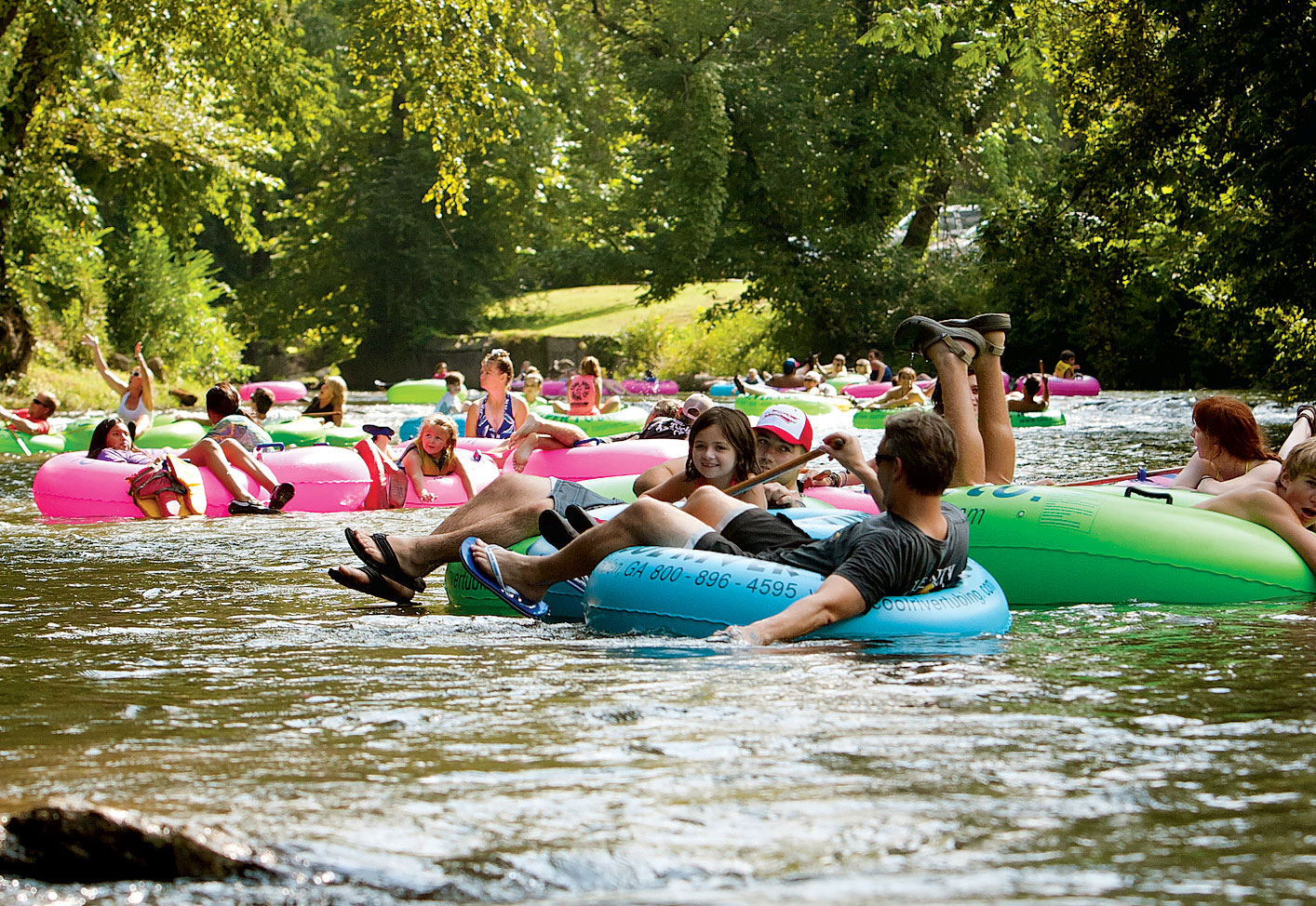 Where to Go Tubing Around DC This Weekend