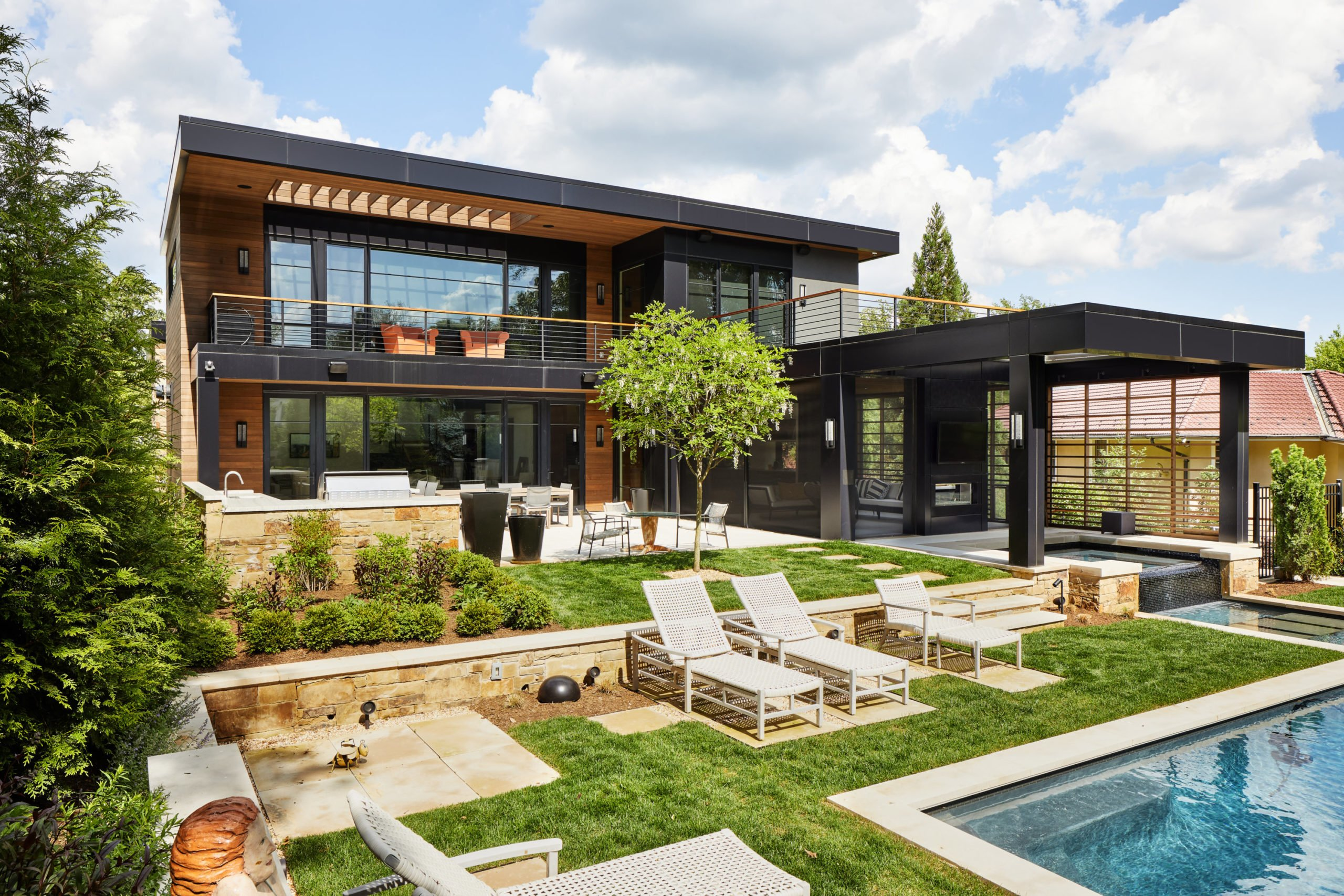 Space Of The Week A Modern Dream House In Bethesda