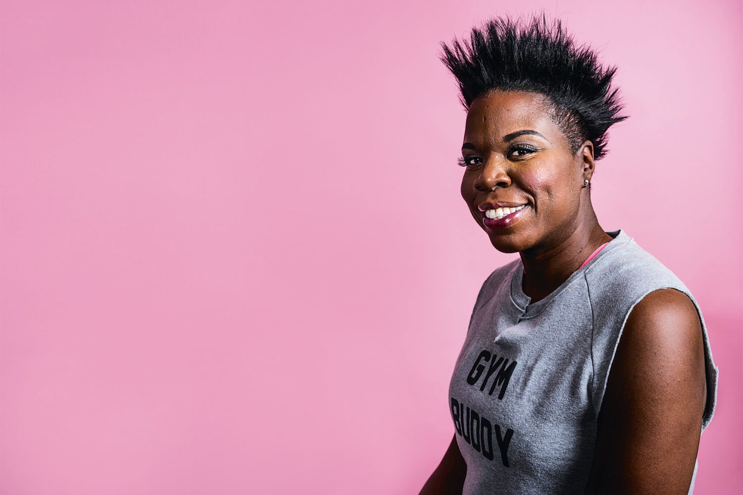 See Comedian Leslie Jones at the Warner Theatre September 10th. Photograph by Chad Batka/New York Times/Redux.