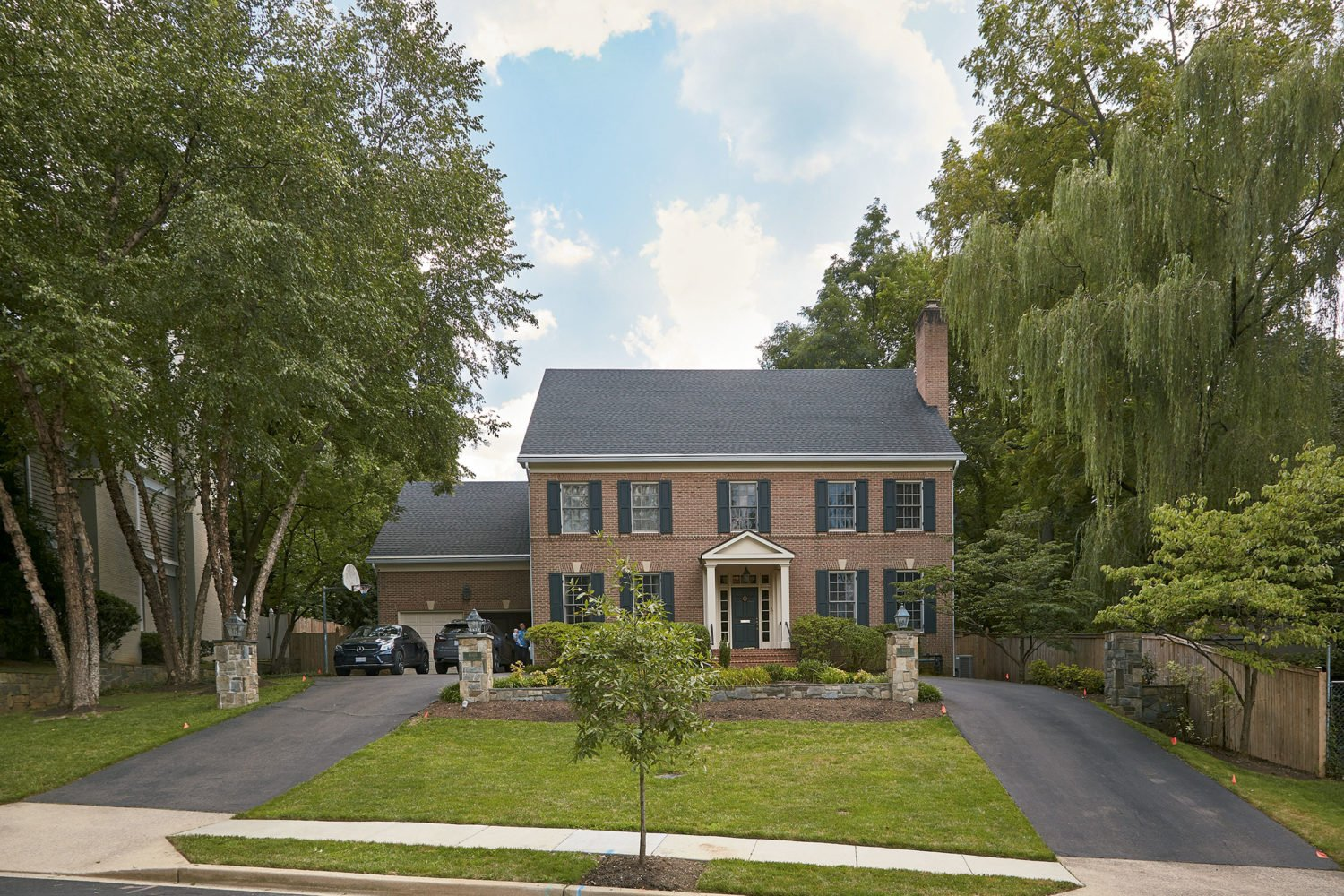 Restaurateur Fritz Brogan bought this Spring Valley colonial for for $2.5 million.