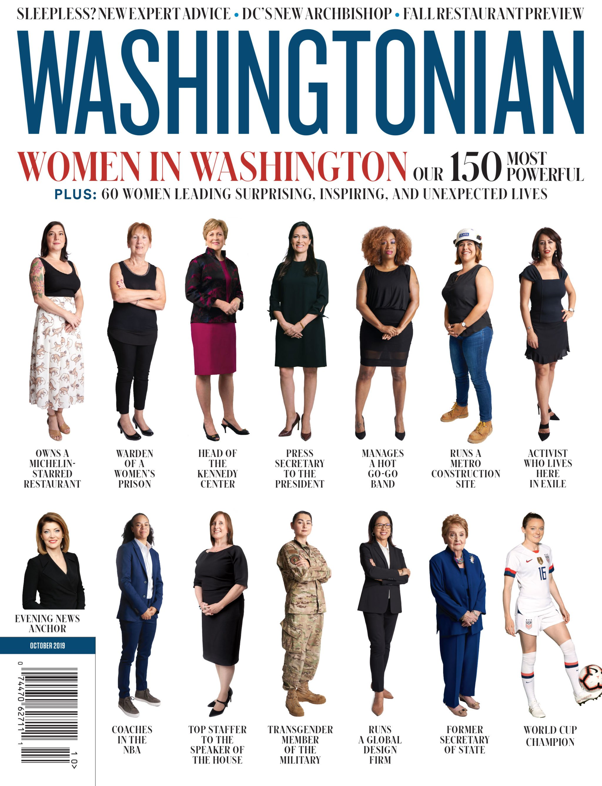 October 2019: Women in Washington