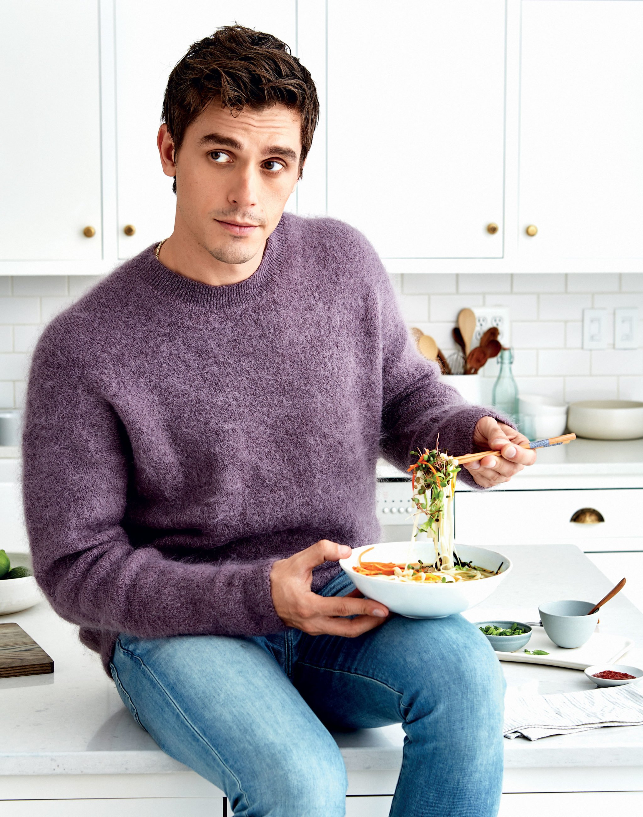 Queer Eye star Antoni Porowski comes to DC Tuesday for a stop on his cookbook tour. Photograph by Paul Brissman.
