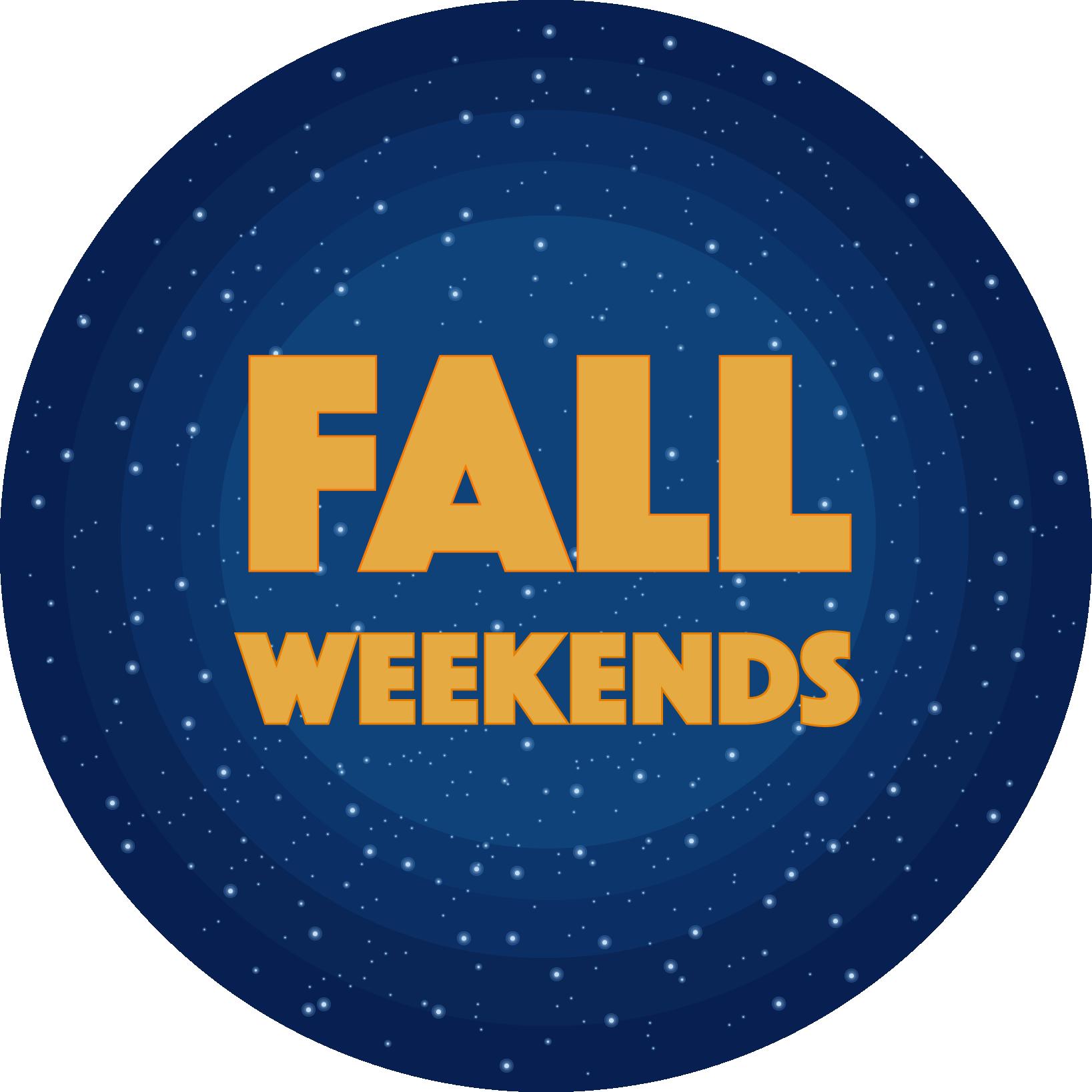 Fall Weekends 2019