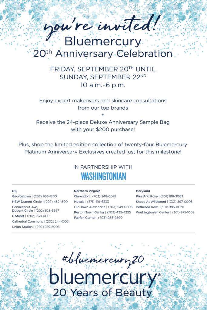 Bluemercury 20th Anniversary Celebration