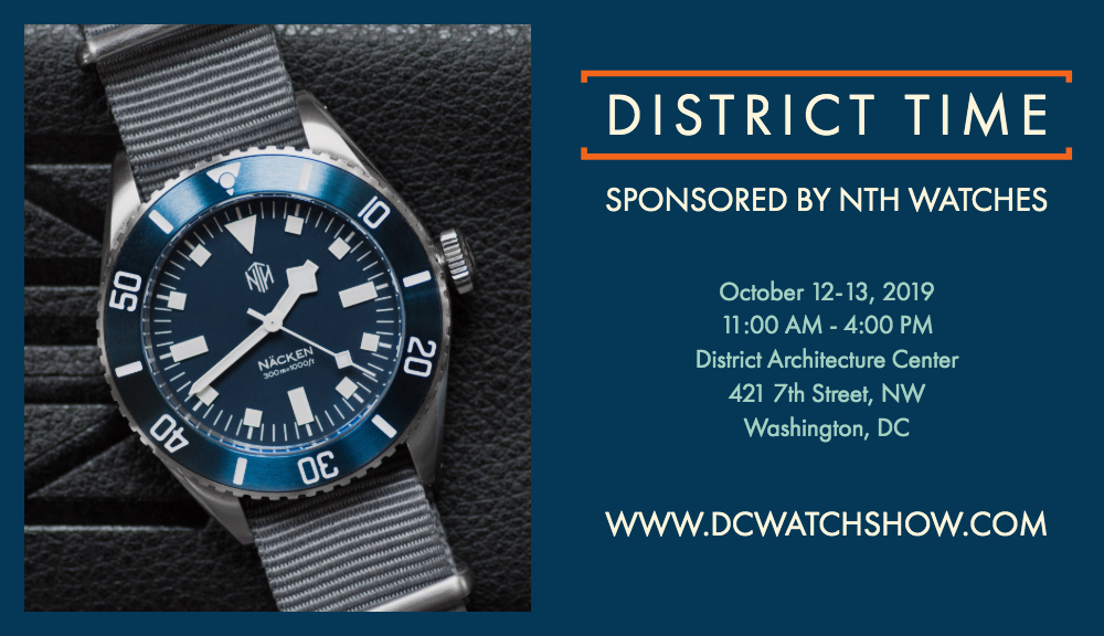District Time Sponsored By NTH Watches