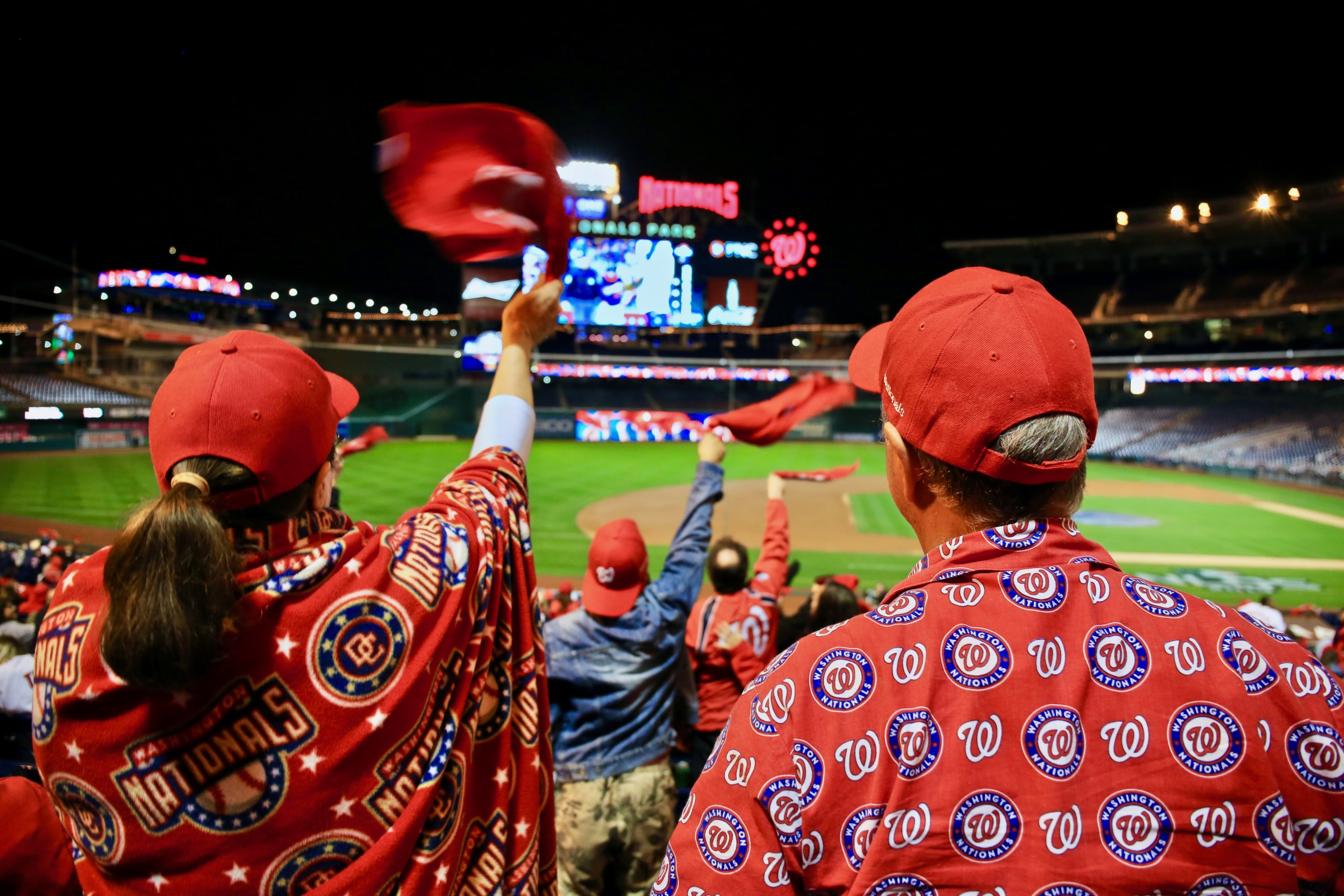 Photo of the Day: Nationals Park, October 9th, 9:42 pm