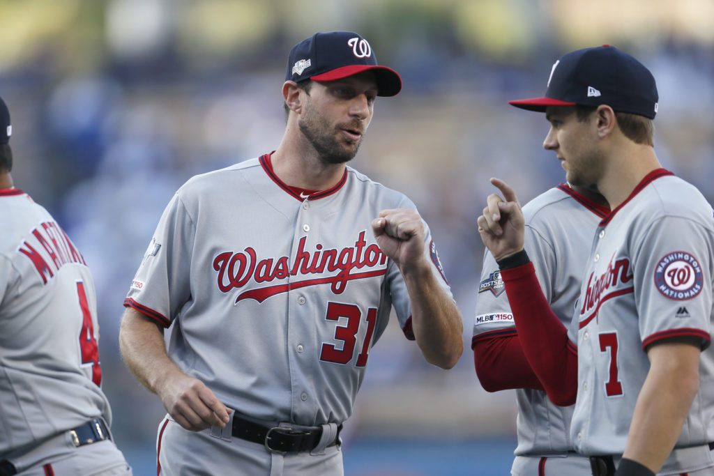Sorry, You Pretty Much Can't Get a Max Scherzer Jersey Right Now