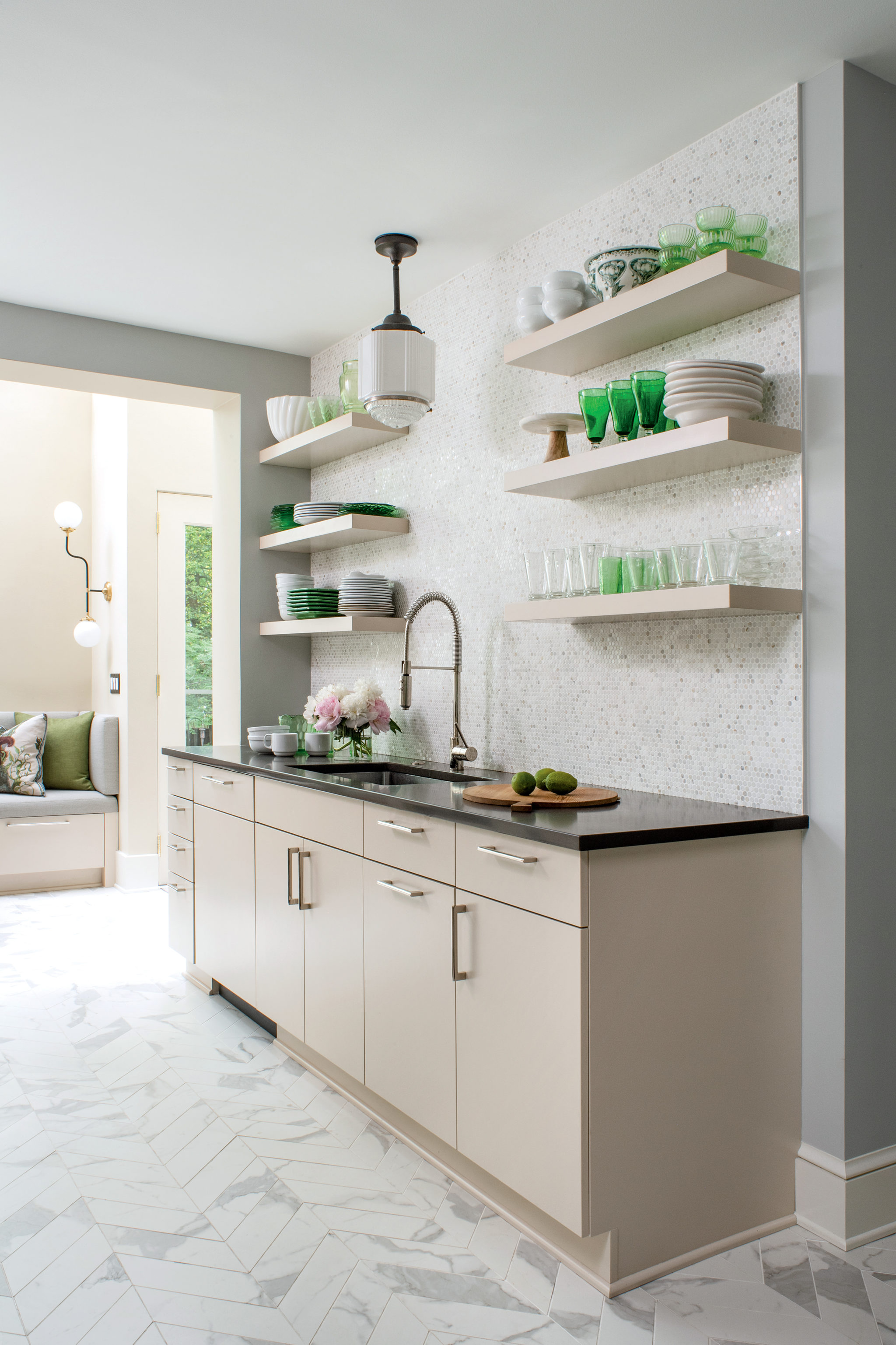 No Detail Was Spared In This Art Deco Inspired Kitchen