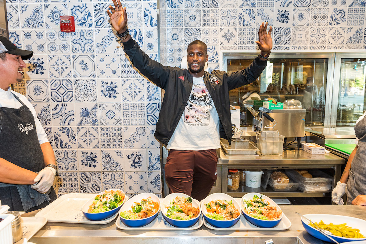 6 Questions for DC United Goalie Bill Hamid (As He Builds Beefsteak Veggie Bowls)