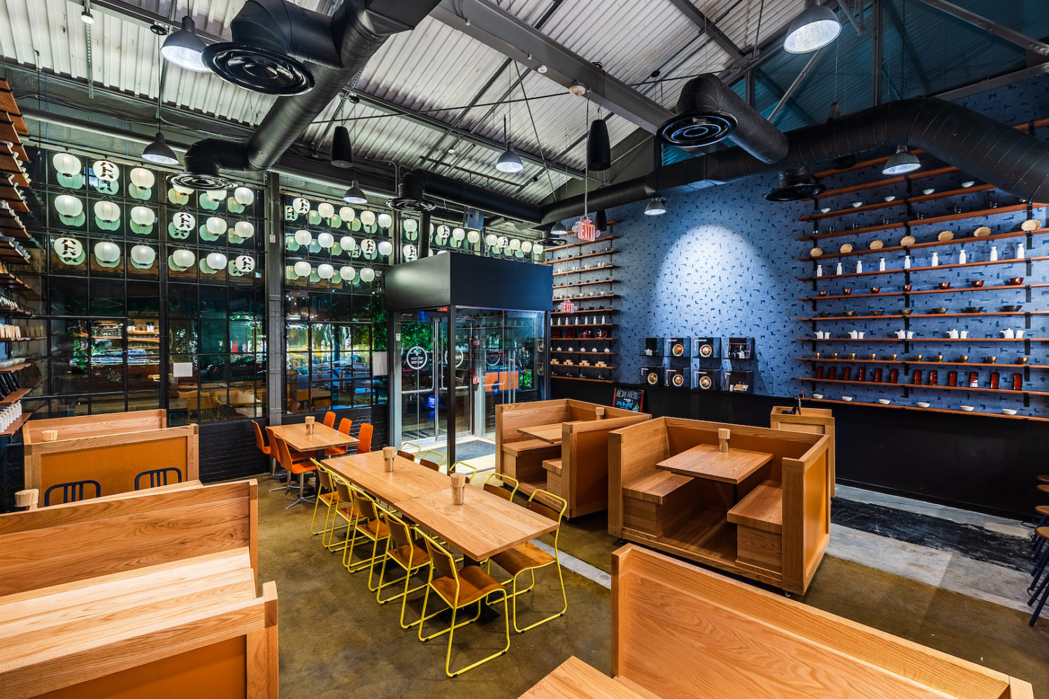 """Hatoba, opening in Navy Yard, means """"dock."""" Photo by Rey Lopez."""