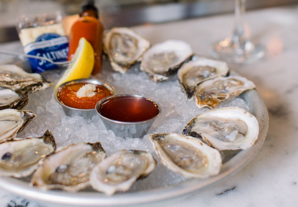 King Street Oyster Bar is bringing raw oysters and other seafood dishes to NoMa. Photograph courtesy of King Street Oyster Bar.