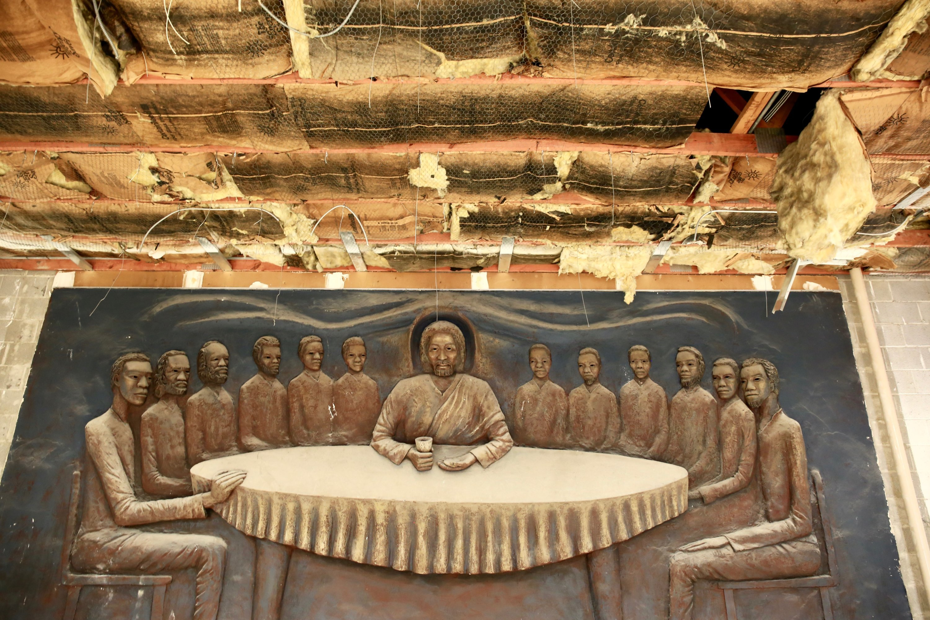 """""""A Spiritual Experience"""": The Artist Behind a Rediscovered Last Supper Talks About Its Creation"""