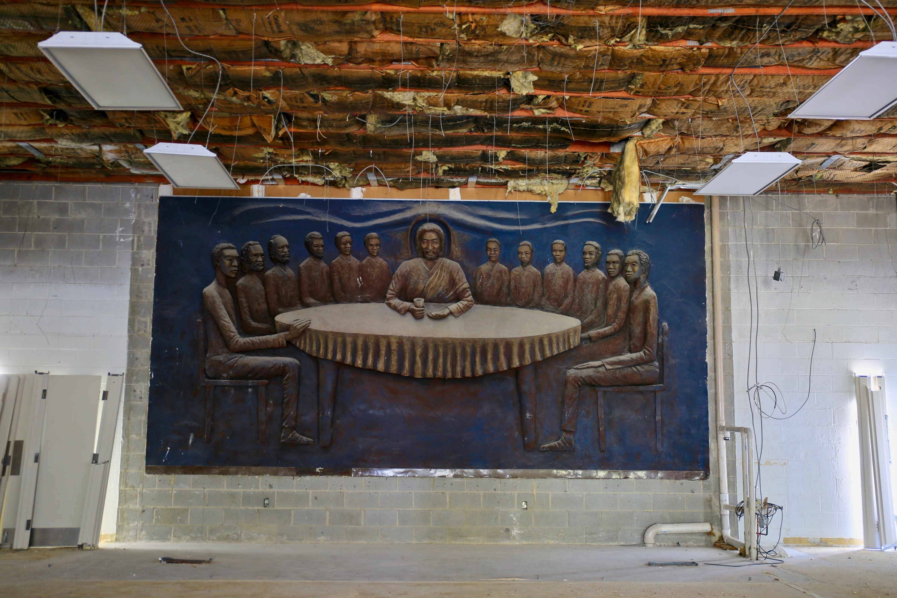 A Massive Sculpture of an African American Last Supper, Hidden for Years, Has Been Discovered in Columbia Heights