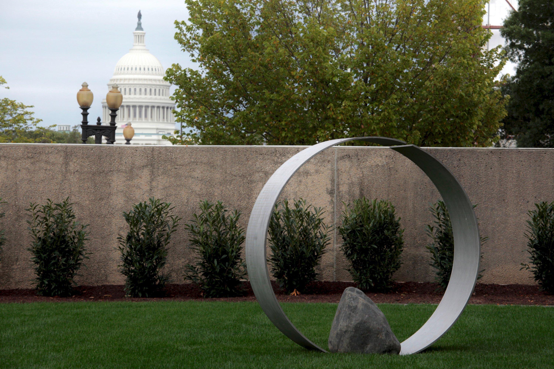 PHOTOS: Walk Through the Hirshhorn's New Reflective Sculpture Installation