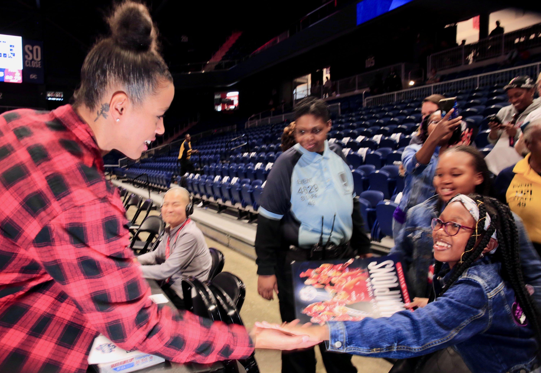 PHOTOS: The Washington Mystics' Championship Celebration