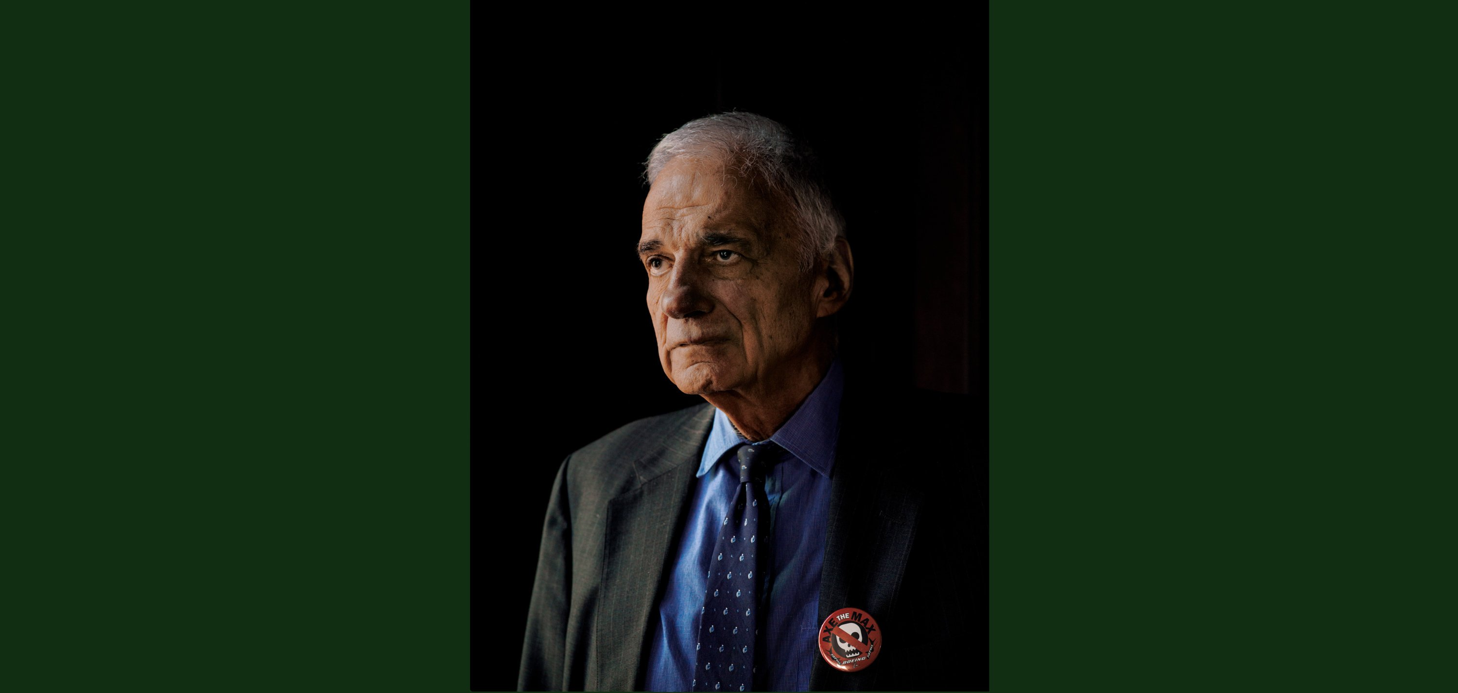 Ralph Nader Is Opening Up About His Regrets
