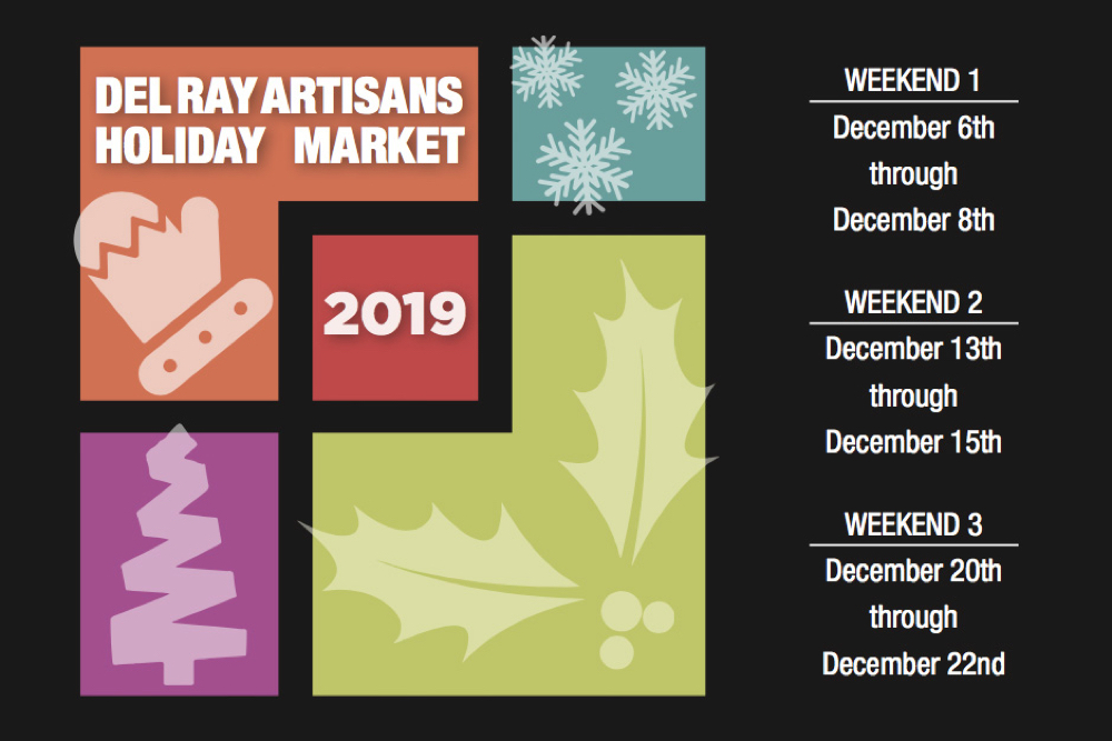 Del Ray Artisans 24th Annual Fine Arts and Fine Crafts Holiday Market