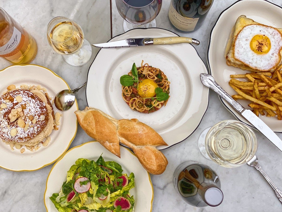 A Svelte French Brasserie From The Hilton Brothers Is Open