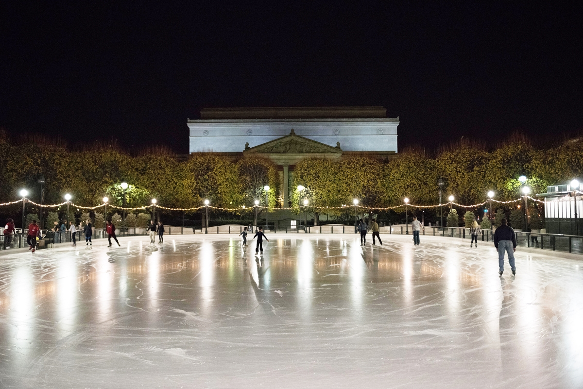National Gallery ice rink