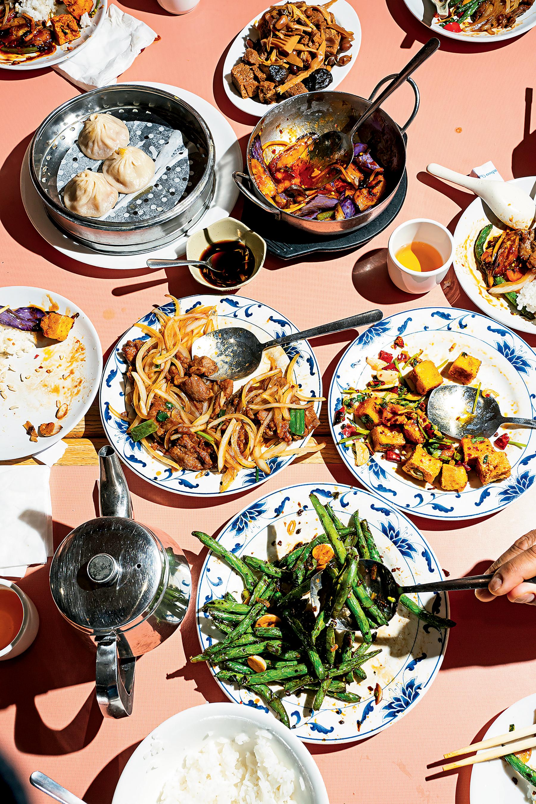 A shareable feast at Bob's Shanghai 66.